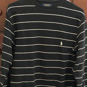 Polo Ralph Lauren Black Thermal Long Sleeve Size:M